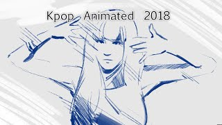 KPOP ANIMATED 2018 - Rotoscope Animation