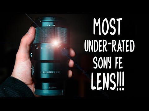 !!!The Best Macro Lens in the WORLD!!! Sony 90mm f2.8 G Lens for VIDEO & PHOTO [REVIEW]