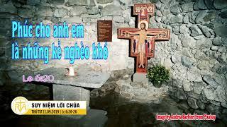 Suy Niệm Lời Chúa, Thứ Tư 11092019