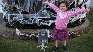 Outdoor Halloween Decorations | Halloween Scene | Kids Halloween Decorations #AtHomeStores #MyReason