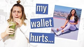 I Spent $600 to Eat and Workout Like an LA Youtuber
