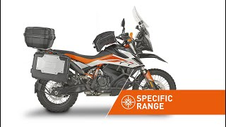 Specific range accessories for KTM 790 ADVENTURE R (19) by KAPPA MOTO