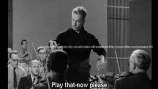 Karajan - Rehearsal of Schumann's 4th Symphony - Part 1