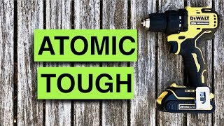 Small drill, big bite! Dewalt Atomic DCD708B Brushless 20v Max Drill REVIEW