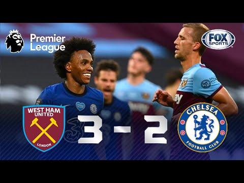SHOW DE WILLIAN, MAS... Gols de West Ham 3 x 2 Chelsea pela Premier League
