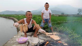 Nầm Bò Nướng Đu Bai - Thưởng Thức Giữa Cánh Đồng Lúa Tuyệt Đinh