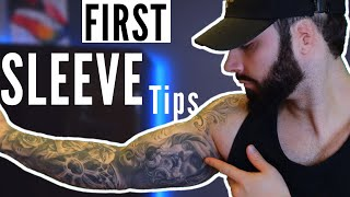 8 Tips On Getting Your FIRST TATTOO SLEEVE