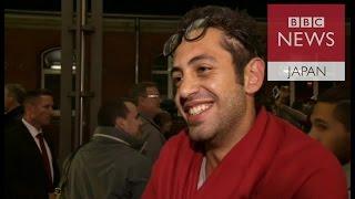 【BBC】ドイツに着き安堵する移民 受け入れ側は?