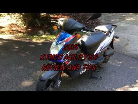 Kymco 2015 Agility 50 review and tips