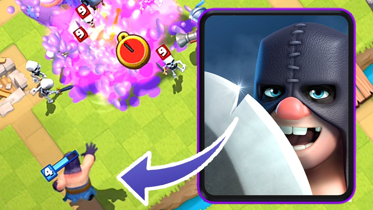 The Executioner Joins Clash Royale And Will Probably