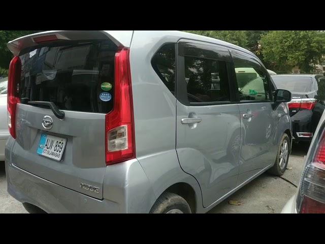 Daihatsu Move Custom X 2015 for Sale in Islamabad