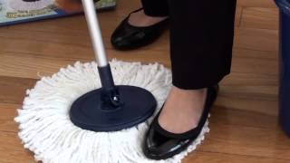 Twist and Shout Mop™ - Removing Mop Head Instructions