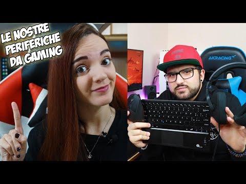 Le nostre Periferiche da Gaming! - Video in collaborazione con Weblibero