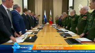 До конца года воздушно-космические силы России будут обновлены почти на 70%