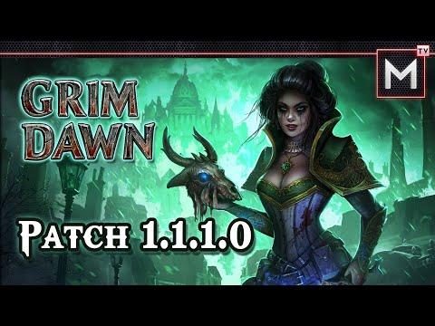 Grim Dawn - Patch v1.1.1.0 Recap - New Update