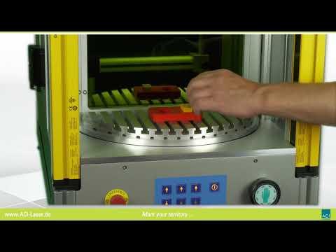 Rundtakttisch RT400 von ACI Laser