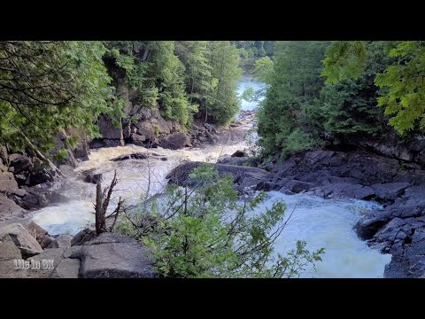 Life in 8K - The powerful waterfalls and cascades of the Oxtongue...