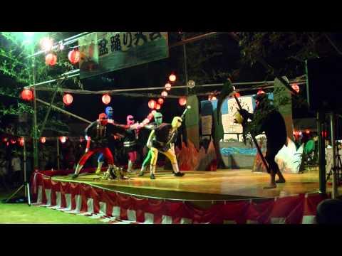 2015.8.22 姫路市立船場小学校盆踊りケスンジャーショー