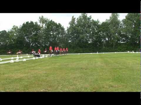 Selectiewedstrijd Brabantse kampioenschappen 2010 - Saxe Gotha 6 tal CDE Cat L