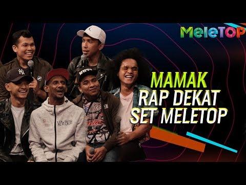 Mamak Finalis Muzikal Lawak Superstar Rap dekat set MeleTOP | Nabil & Neelofa |