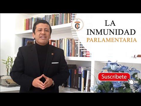 LA INMUNIDAD PARLAMENTARIA - TC158