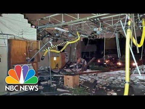Intensity Of Tornado North Of Dallas Captured By Eyewitness Video | NBC News