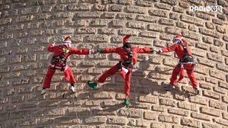 A Bitonto sono arrivati i Babbi Natale 'ACROBATI'
