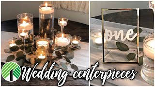 Dollar Tree DIY Wedding Centerpieces | Elegant And CHEAP!