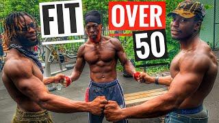 Fit Over 50 | Calisthenics | Push Up Workout For Strength | @redshot Blackstar