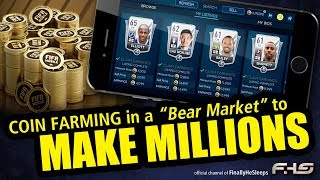 """FIFA Mobile - HOW TO BUY & SELL in the """"Bear"""" Market TO MAKE MILLIONS - 6x-10x your investment"""