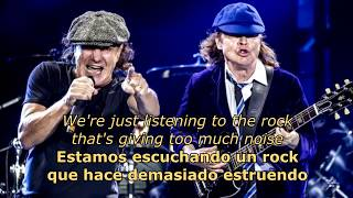 Rock And Roll Ain't Noise Pollution (Español/Inglés) - AC/DC