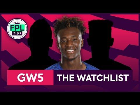 GW5: FPL WATCHLIST | Gameweek 5 | Fantasy Premier League Tips 2019/20