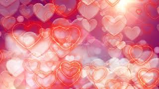 love motion background hd | moving hearts background | Hearts overlay HD | heart background video
