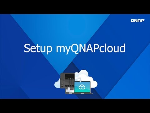 QNP201- Set up myQNAPcloud