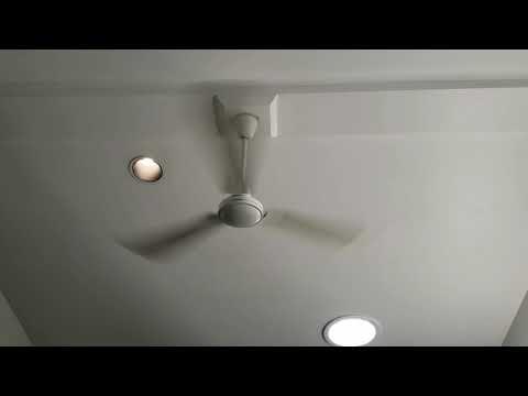 Canarm CP56 Industrial Ceiling Fan: Part II/RUNNING