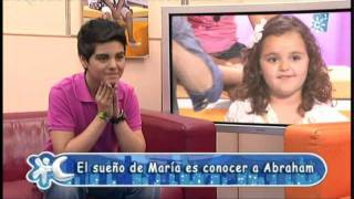 Abraham Mateo (12 años)  - MI PRINCESA - Dedicada a una fan muy especial. María.