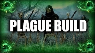 Skyrim SE Builds - The Plague Mage - Disease Magic Necromancer Modded Build