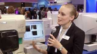 XT-2000iV display in Sysmex booth at AACC 2014