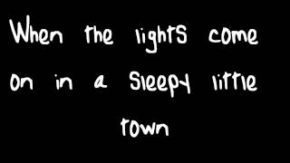 Sleepy Little Town by JT Hodges Lyrics