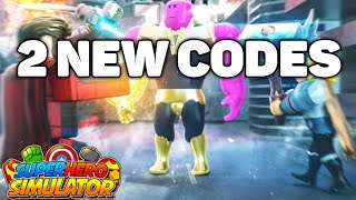 all codes in super hero tycoon wiki