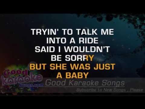 Driving My Life Away -  Eddie Rabbitt (Lyrics Karaoke) [ goodkaraokesongs.com ]