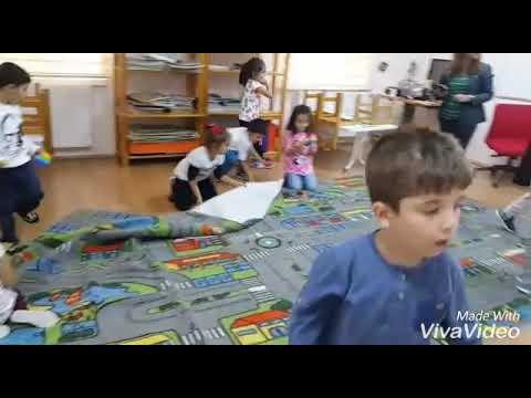 Çocuk Kulübü.. dikkat toplama..bütünleştirilmiş etkinlik..şekiller, örüntü.. (видео)