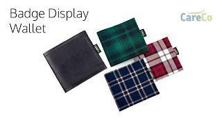 Blue Badge Display Wallet