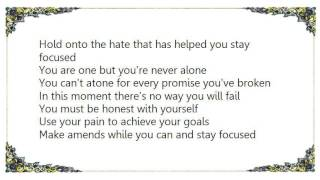 You're Never Alone - Hatebreed