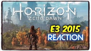 Horizon Zero Dawn  E3 2015 Trailer  PS4 Reaction  1080p