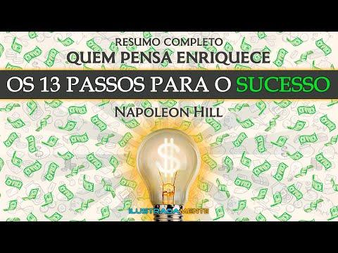 QUEM PENSA ENRIQUECE | Os 13 Passos Para o Sucesso | Napoleon Hill | RESUMO COMPLETO