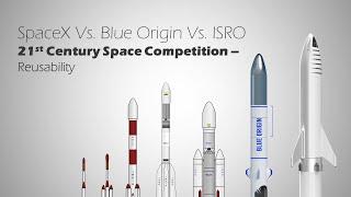 SpaceX Vs. Blue Origin Vs. ISRO, Who will dominate the Future of Space?