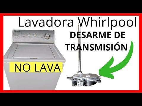 mi lavadora whirlpool no lava 2 razones