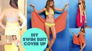 DIY Victorias Secret Swimsuit Cover-Up { No Sewing }