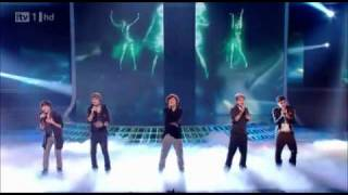 One Direction sing Total Eclipse of the Heart - The X Factor Live
